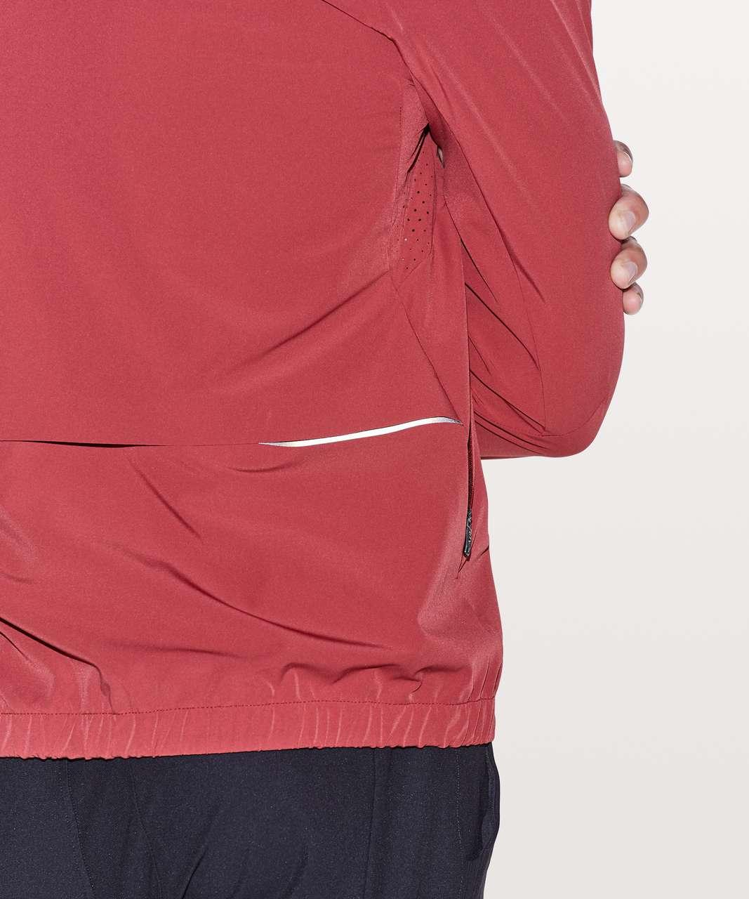 Lululemon Coaches Jacket - Oxblood