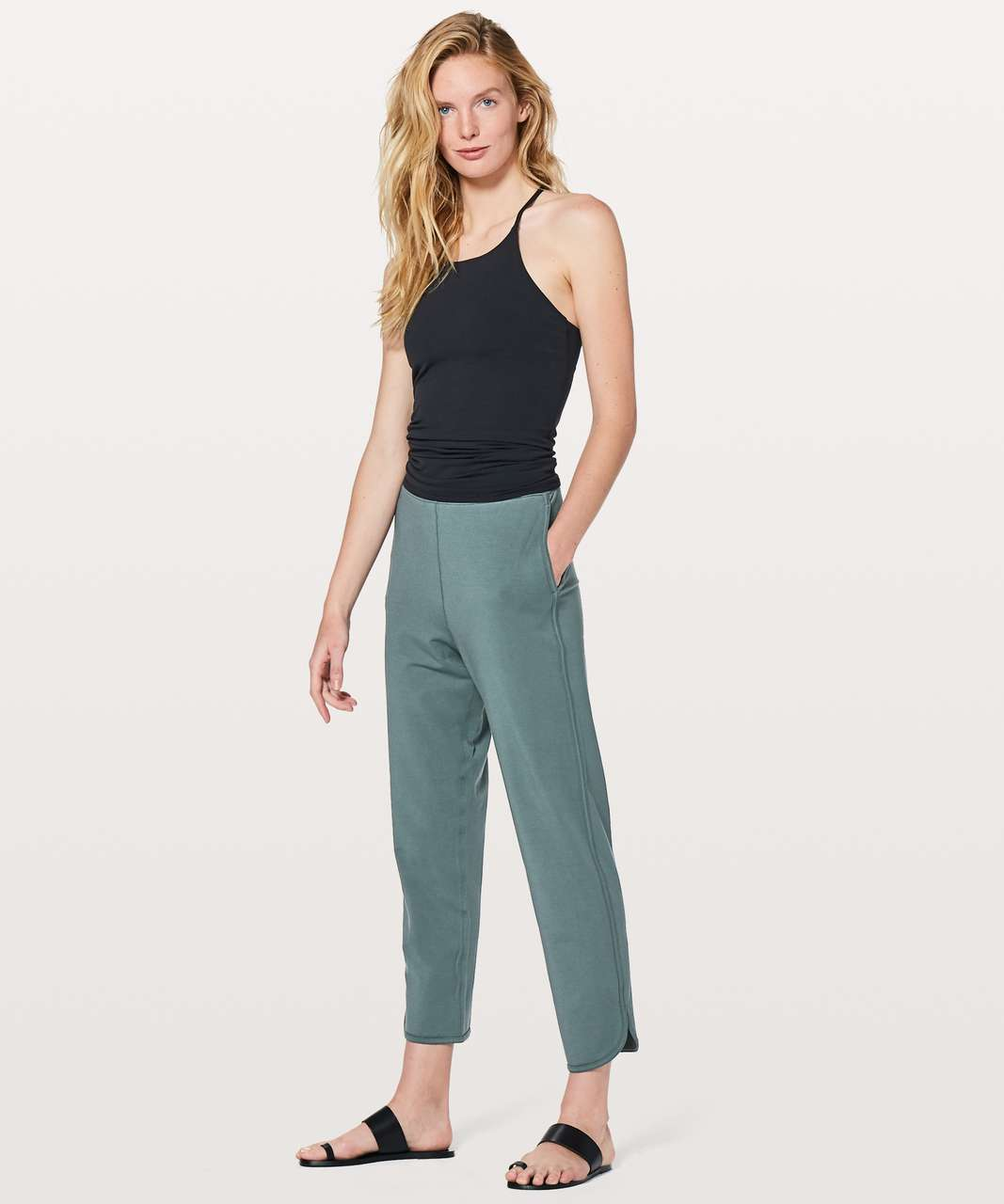 "Lululemon Every Moment Pant *26"" - Sea Steel"
