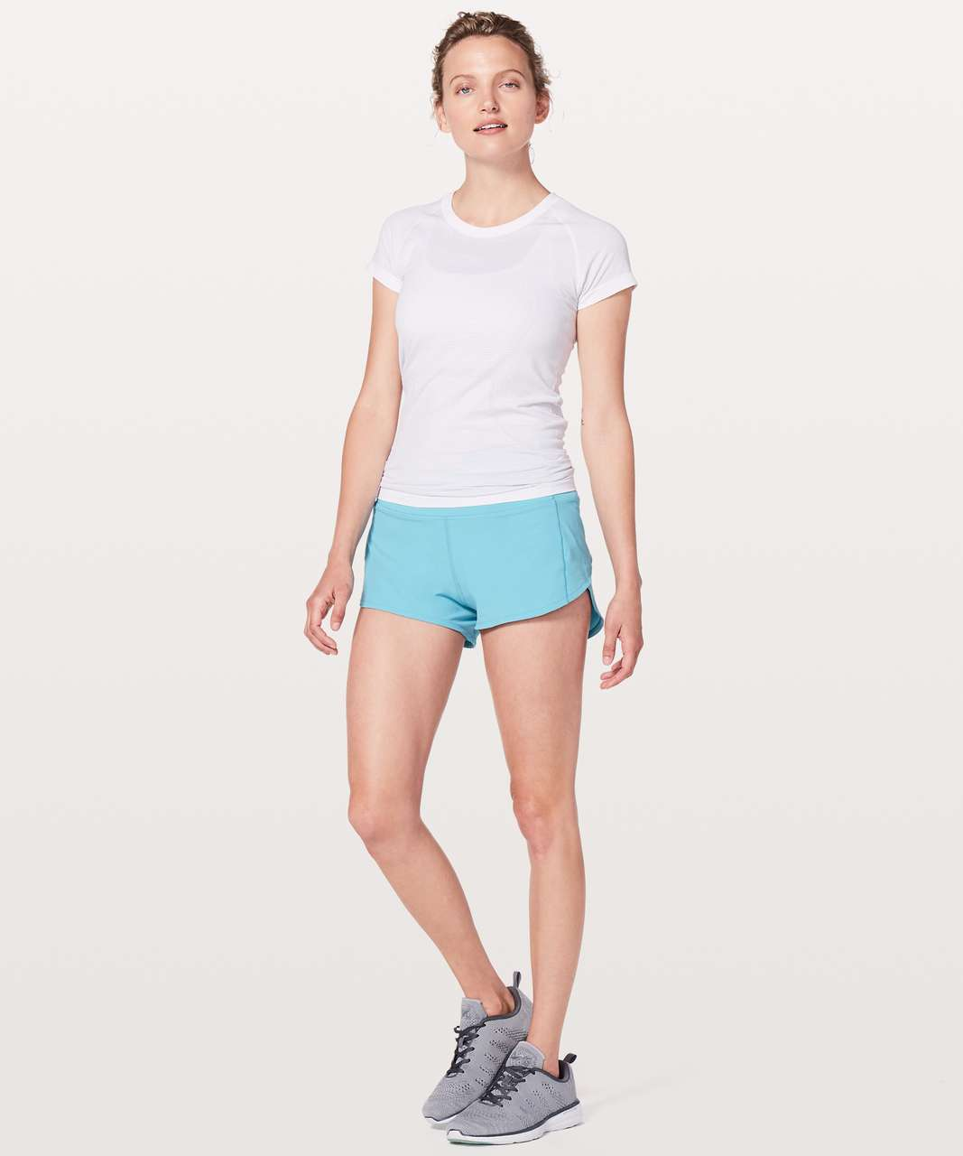 "Lululemon Speed Up Short Hi-Rise *2.5"" - Eton Blue"