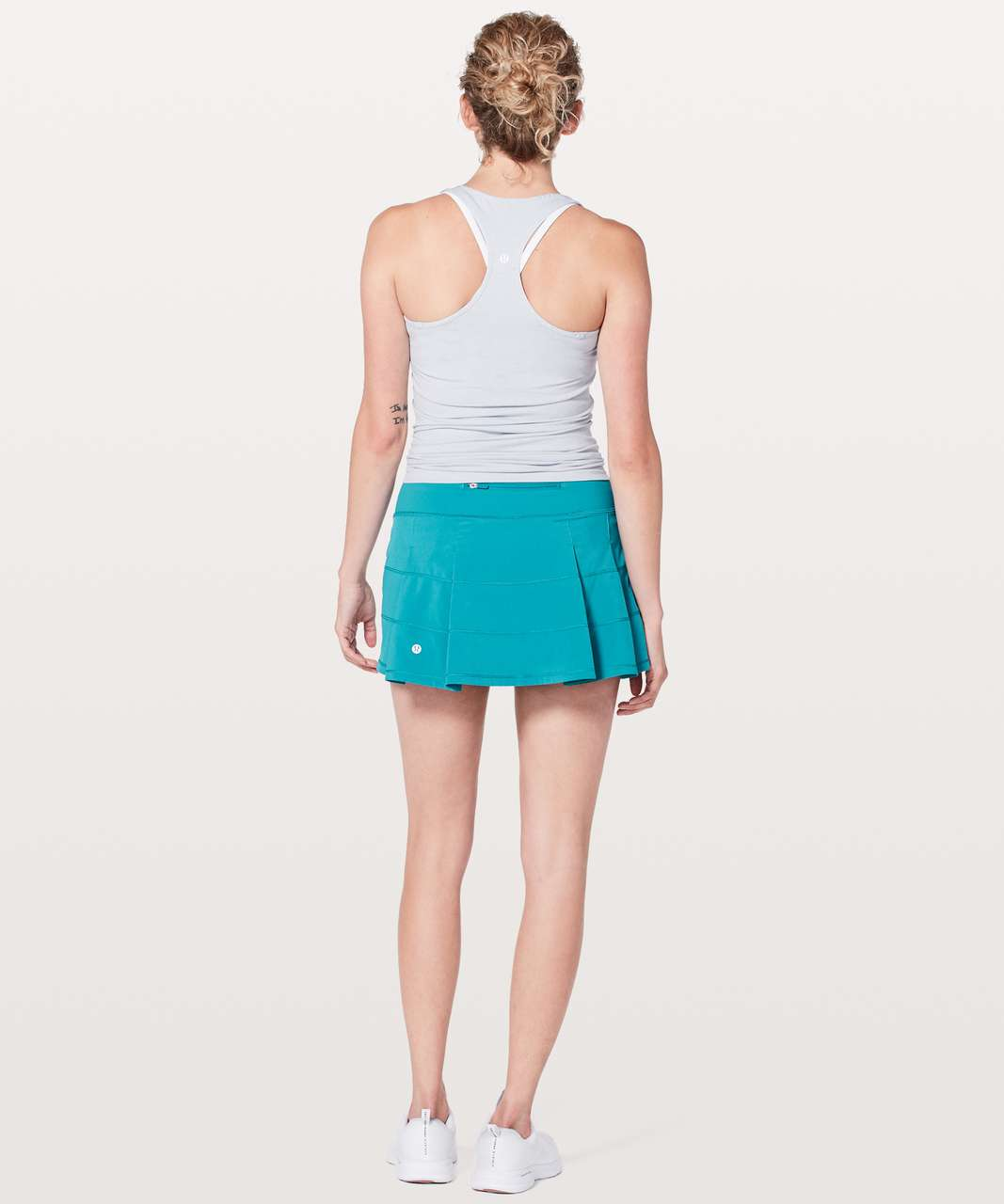 "Lululemon Pace Rival Skirt (Regular) *4-way Stretch 13"" - Teal Blue"
