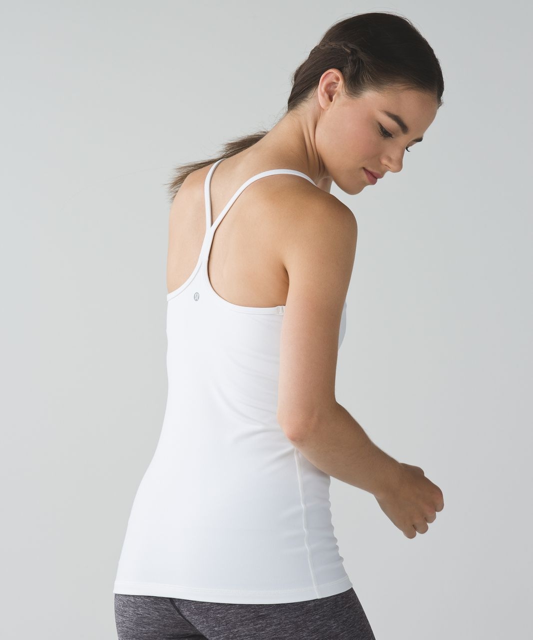 fac0c060a132e Lululemon Power Y Tank - White - lulu fanatics