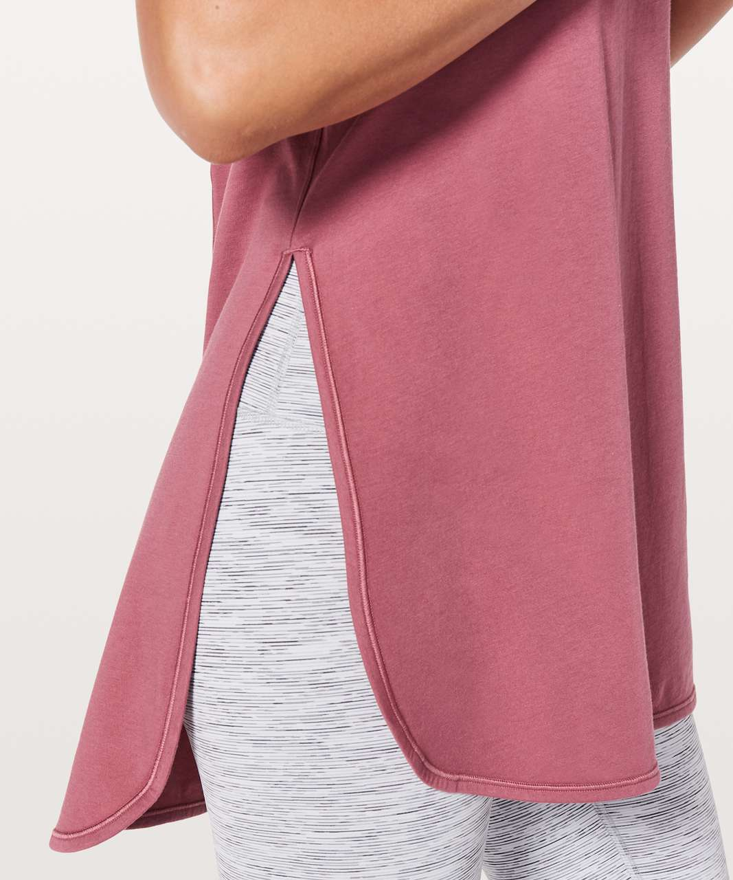 Lululemon Side Story Tank - Moss Rose