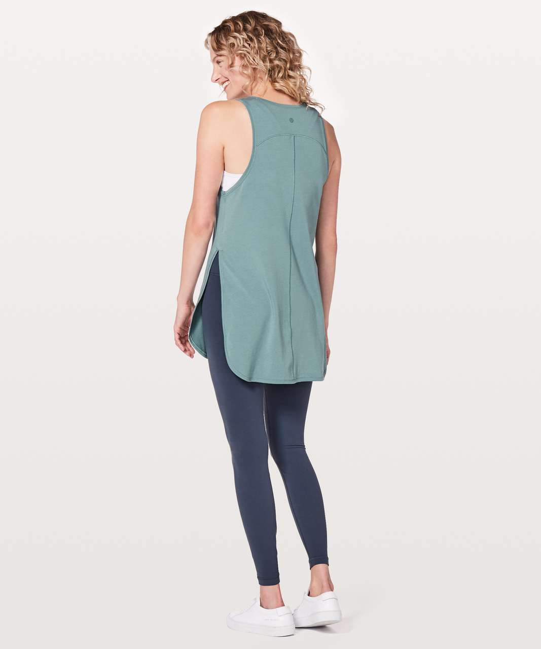Lululemon Side Story Tank - Mystic Green