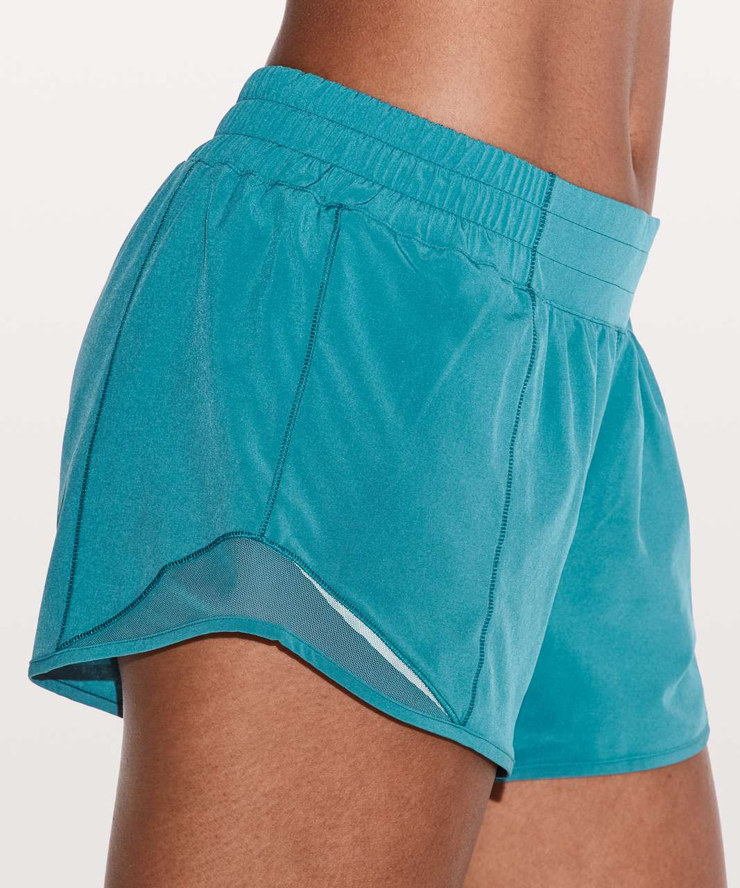 "Lululemon Hotty Hot Short II *Long 4"" - Pacific Teal"
