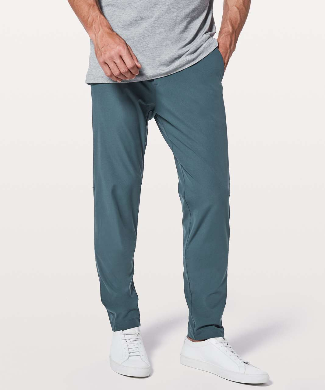 "Lululemon Commission Pant Slim *Warpstreme 34"" - Mach Blue"