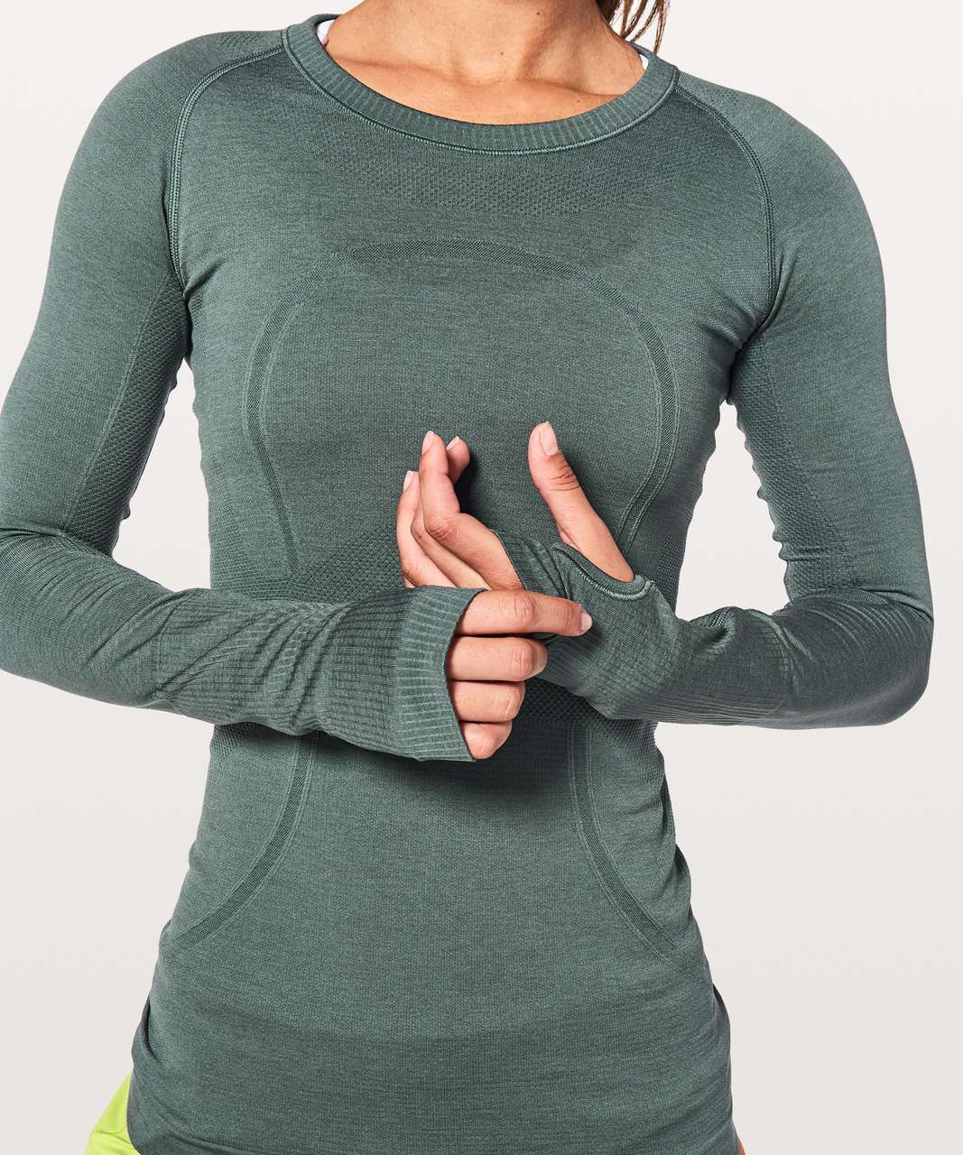 Lululemon Swiftly Tech Long Sleeve Crew - Sea Steel / Sea Steel