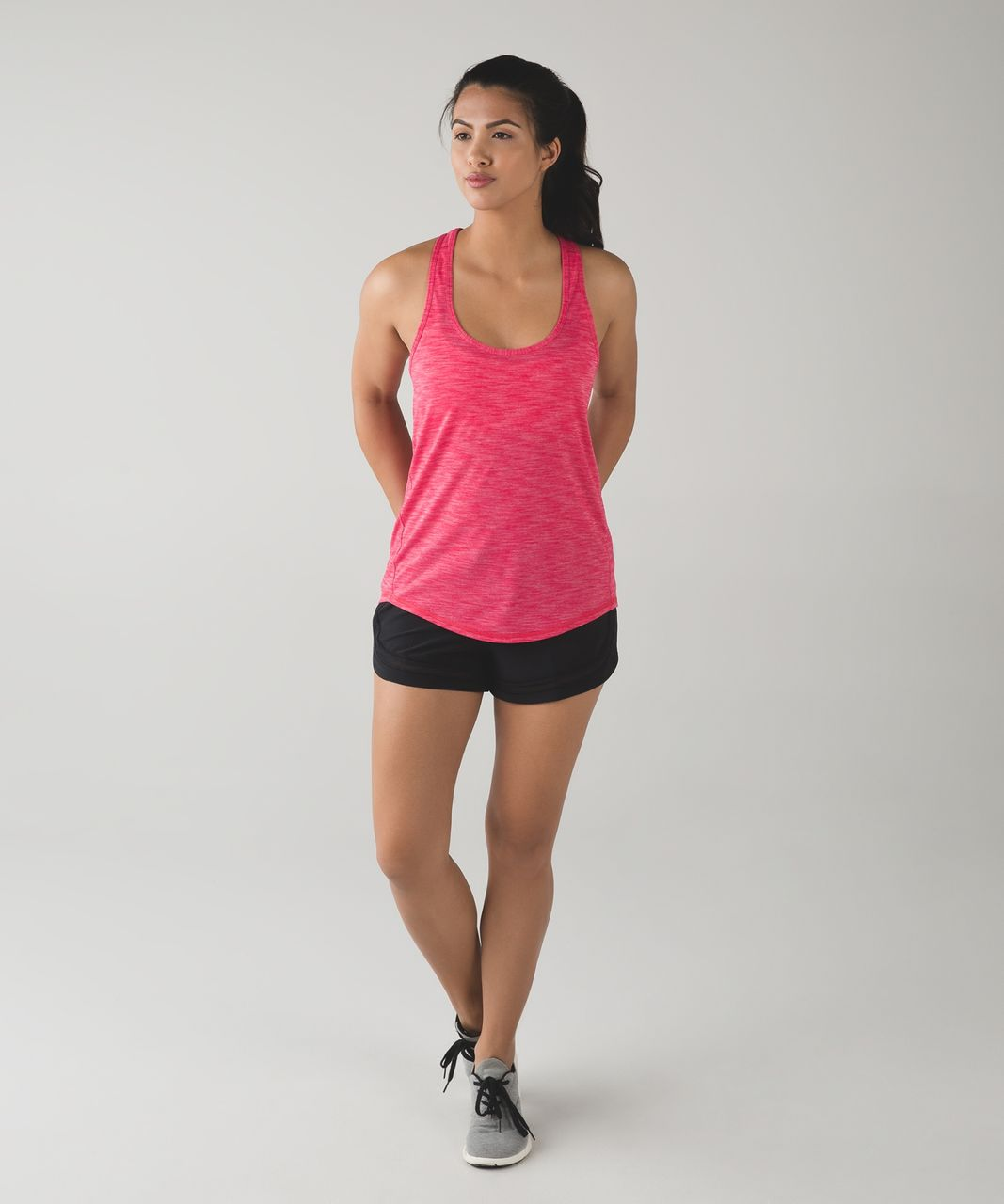 Lululemon Salute the Sun Singlet II - Heathered Boom Juice