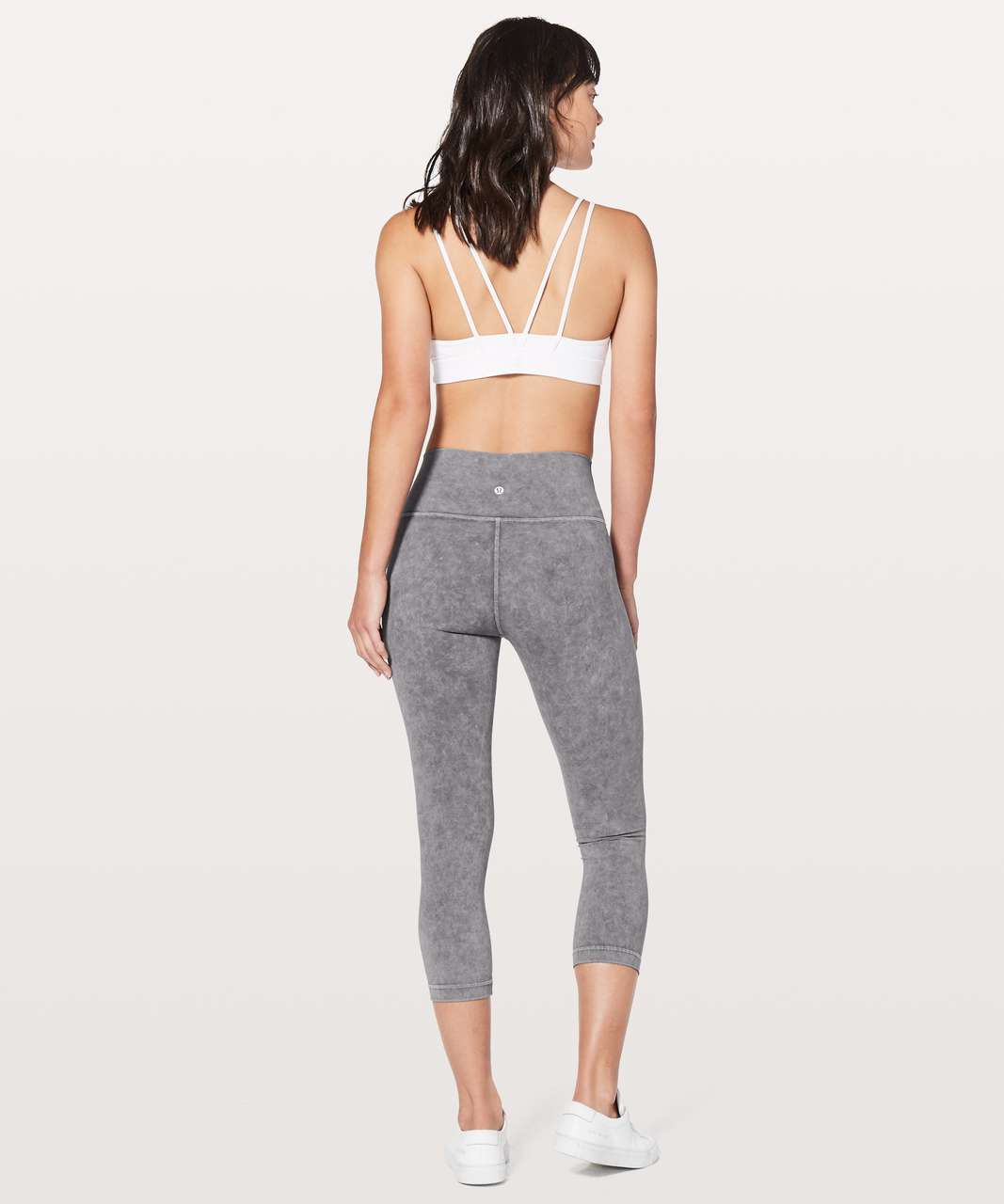 "Lululemon Wunder Under Crop (Hi-Rise) *21"" - Washed Luna"