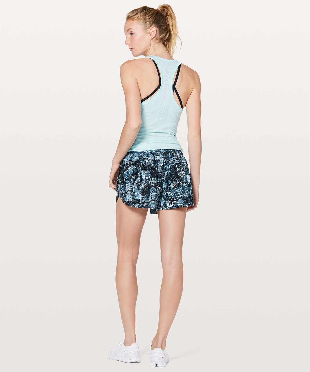 "Lululemon Tracker Short V *4"" - Eternal Wave Starlight Black"