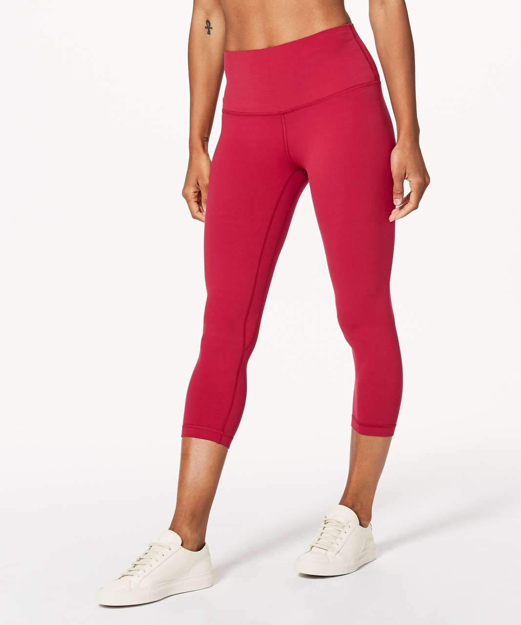 """Lululemon Align Crop *21"""" - Ruby Red (First Release)"""