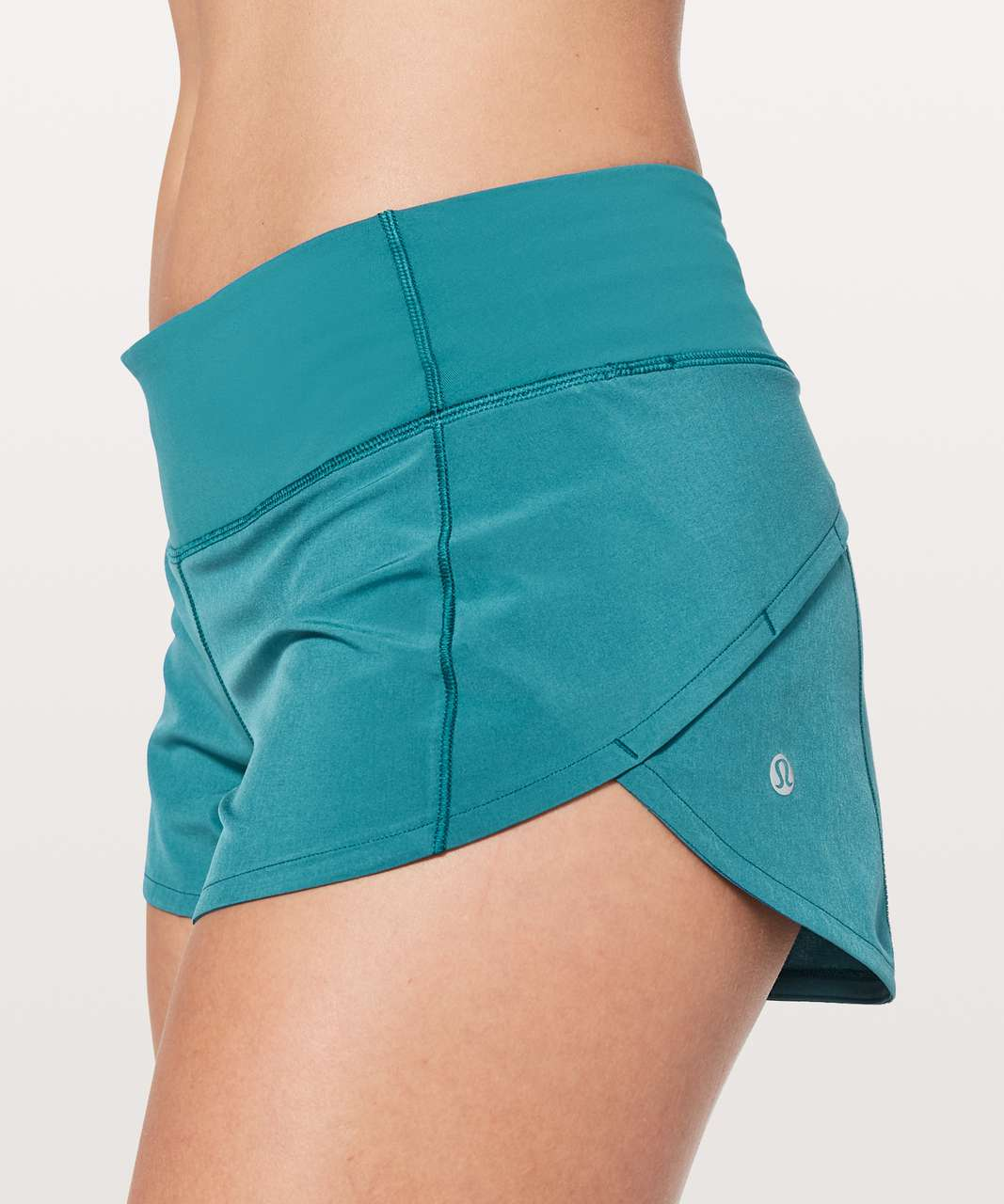 "Lululemon Speed Up Short *2.5"" - Pacific Teal"
