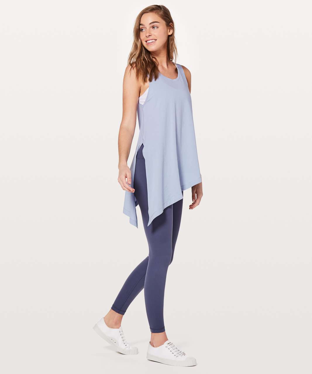 Lululemon To The Point Tank - Berry Mist