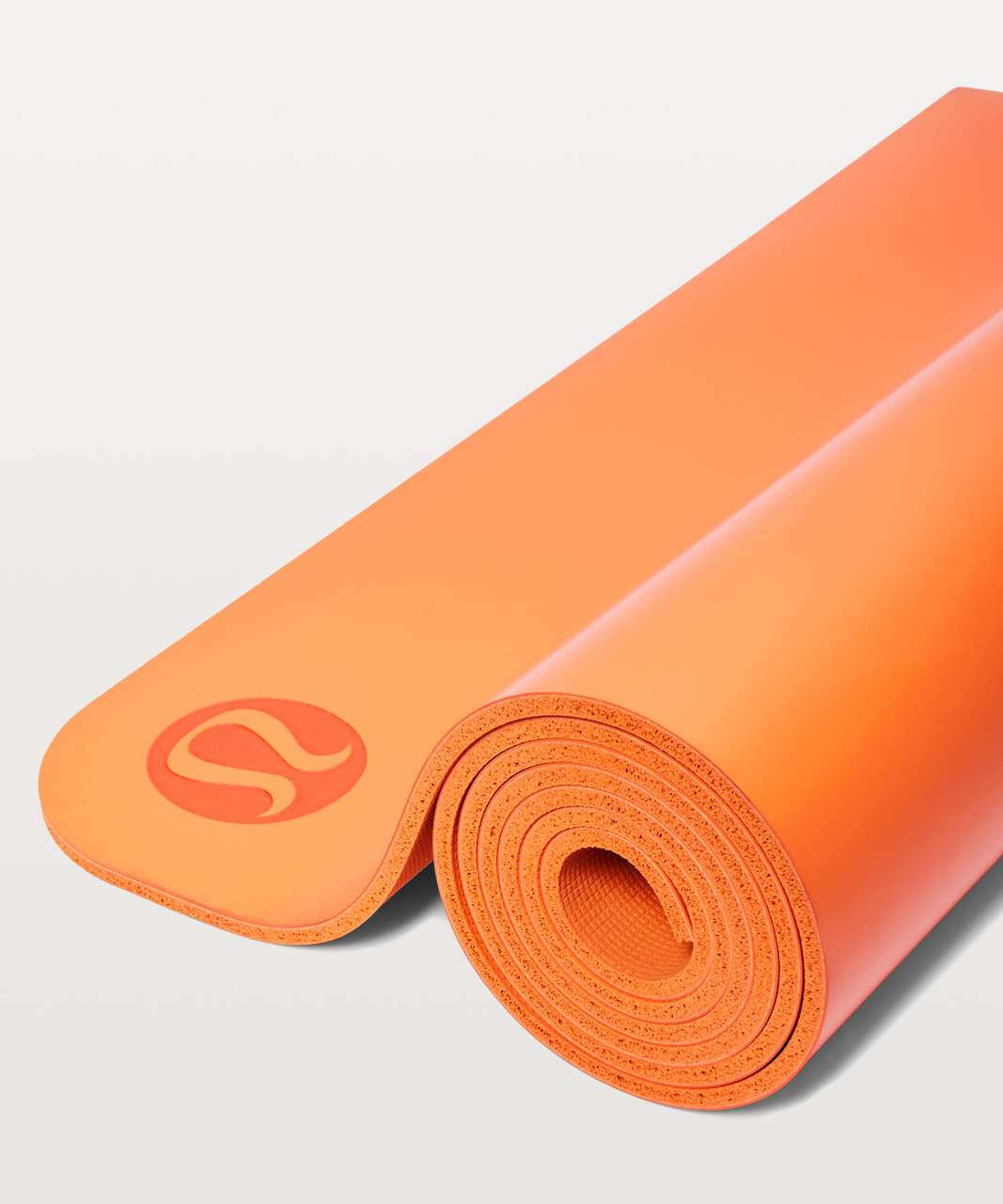 Lululemon The Reversible Mat 5mm - Orange Flash
