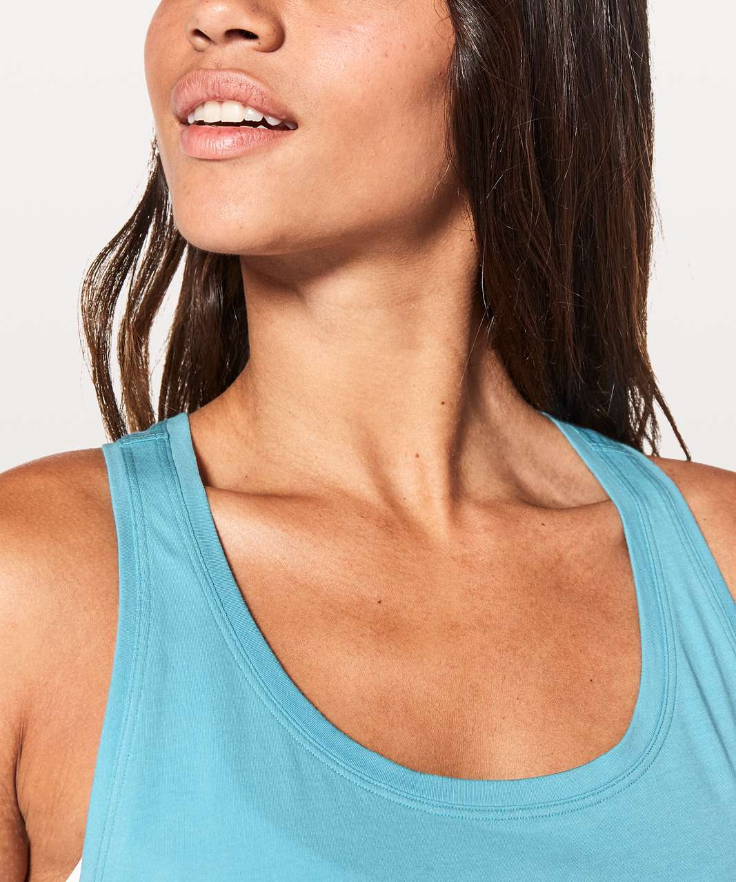 Lululemon Love Tank *Pleated - Eton Blue