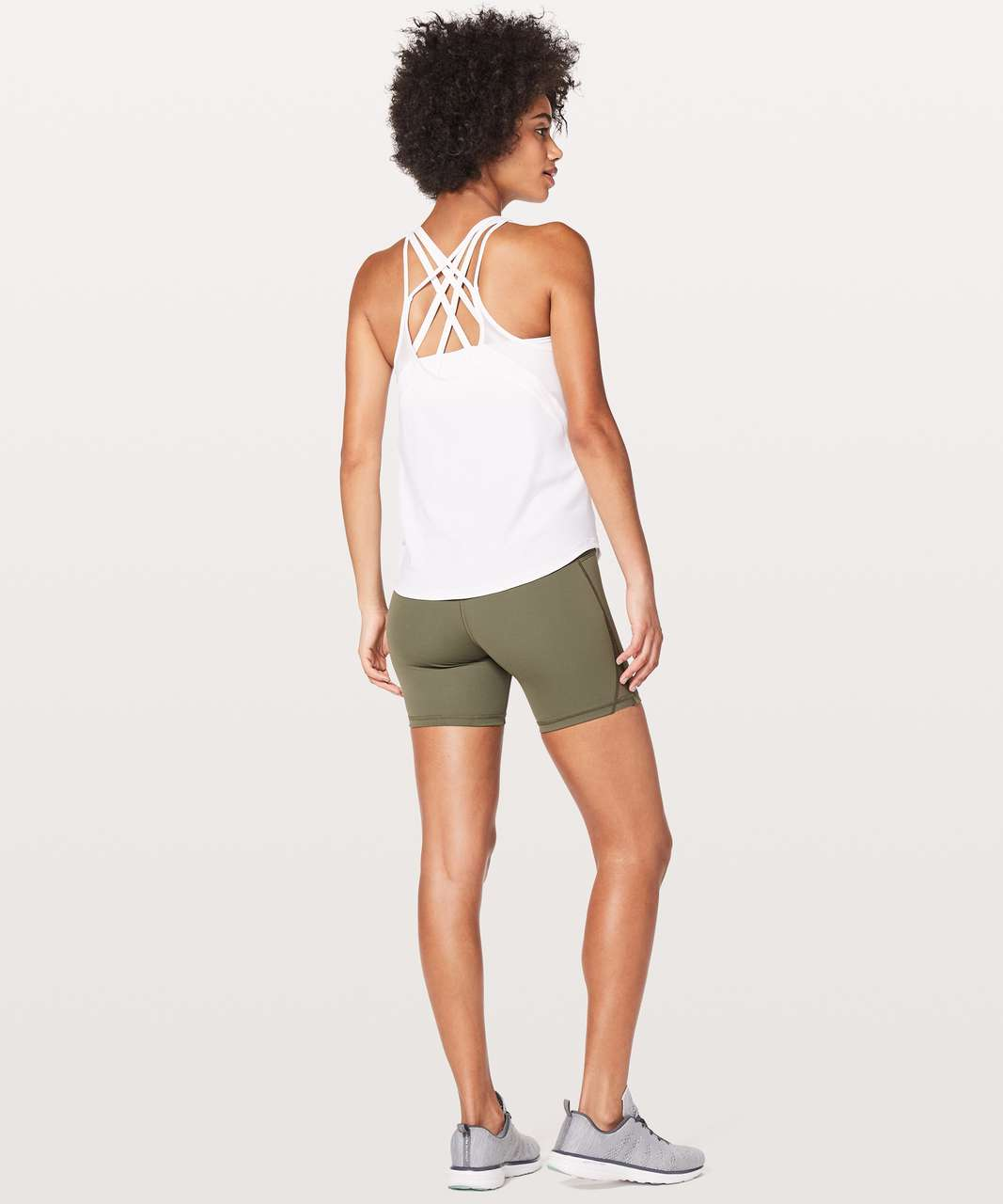 Lululemon Run Off-Route Tank - White