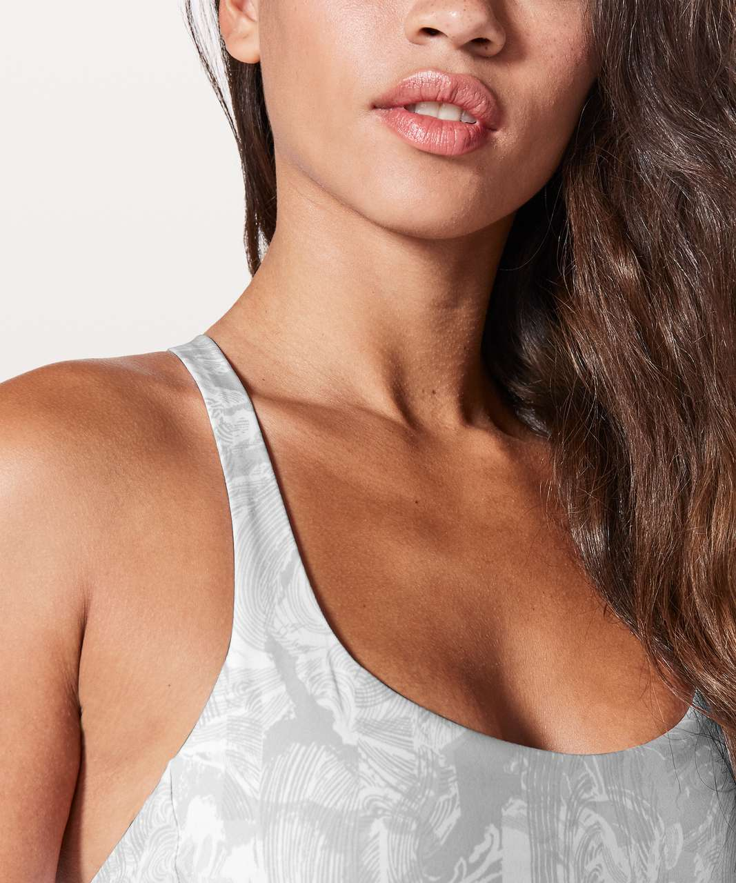 Lululemon Free To Be Zen Bra - Eternal Wave White