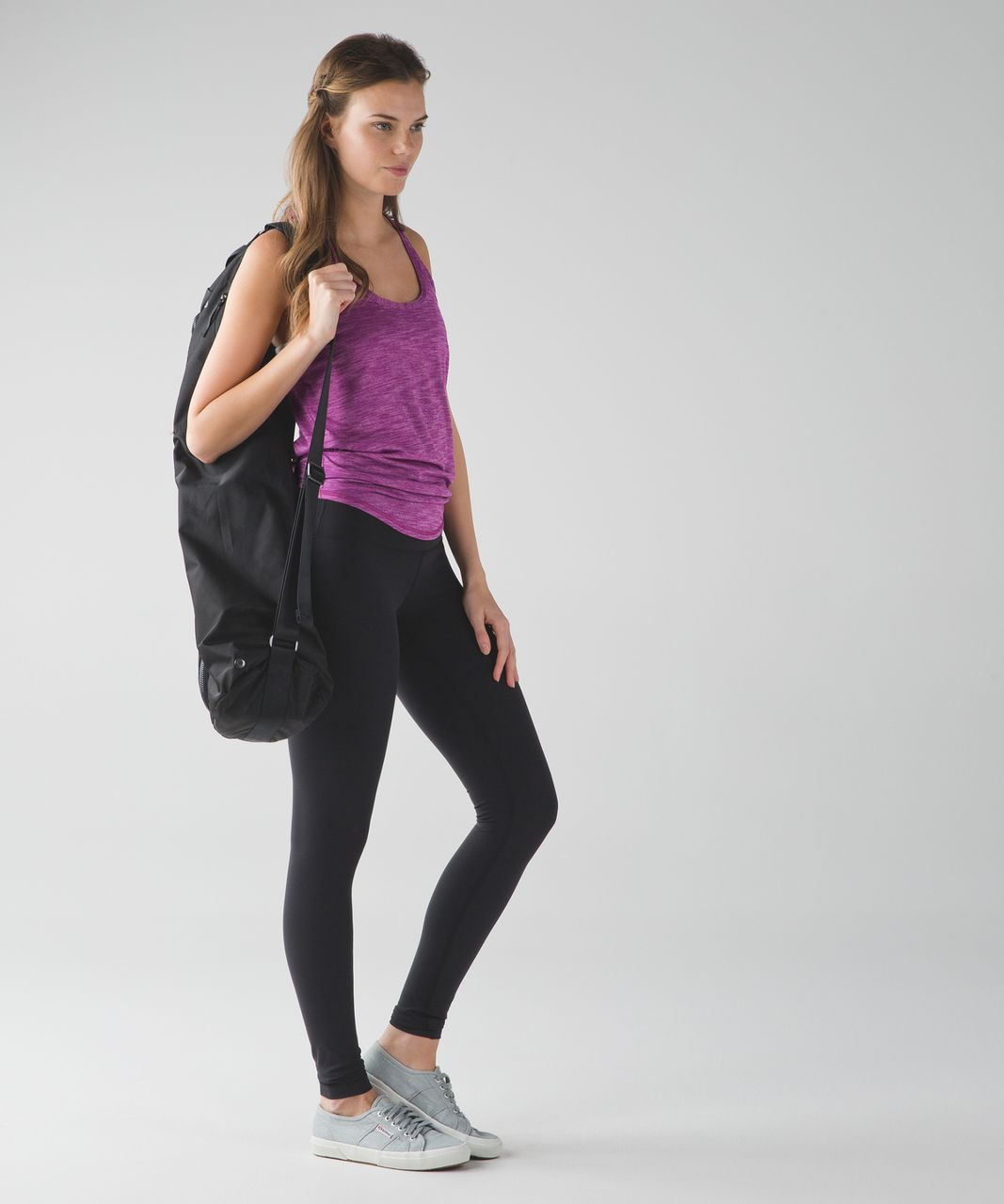 Lululemon Salute the Sun Tank - Heathered Regal Plum