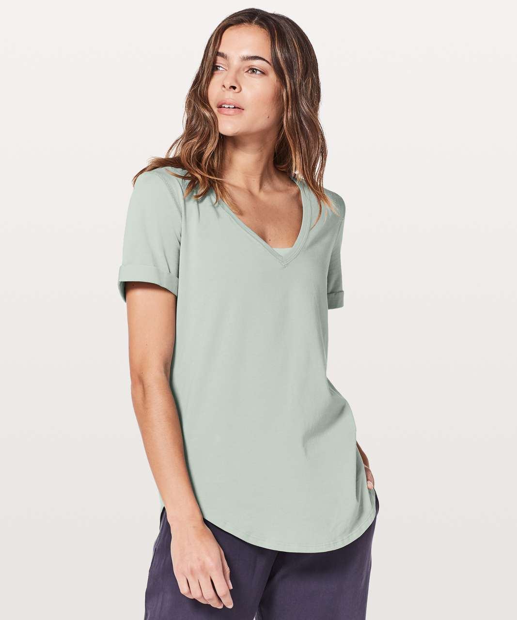Lululemon Love Tee II - Misty Moss
