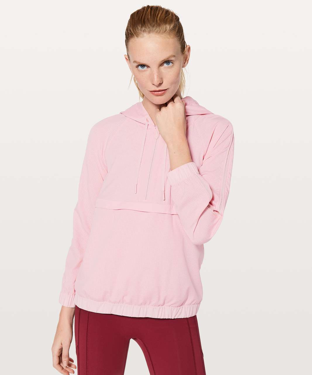 Lululemon Pack Light 1/2 Zip Pullover - Petals