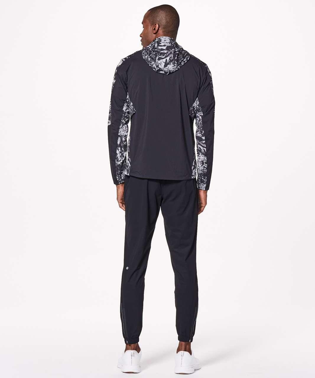 Lululemon Active Jacket - Canopy Ice Grey Black