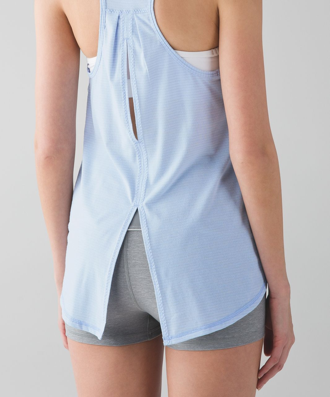 Lululemon Salute the Sun Tank - Heathered Chalk