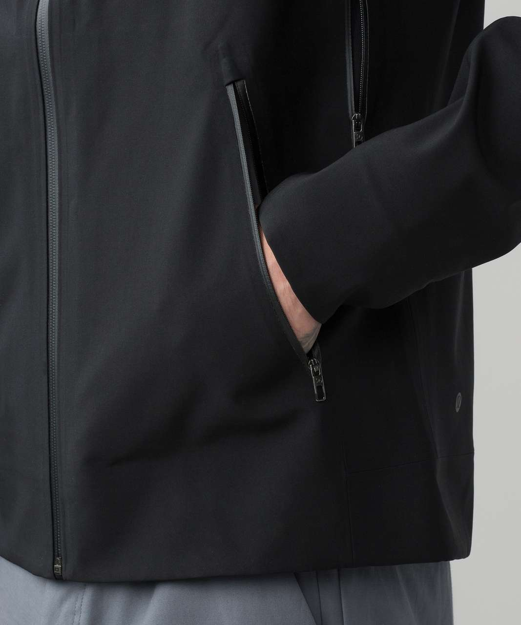 Lululemon Furtive Jacket - Black / Heathered Slate / Black