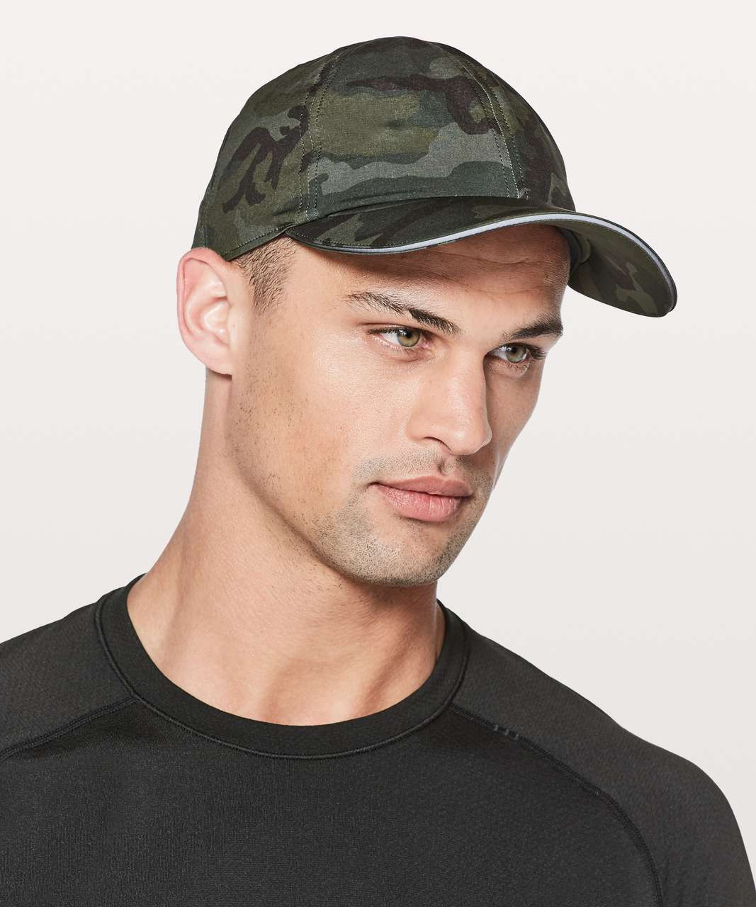 8d4a8a91 Lululemon Lightspeed Run Hat - Woodland Camo Gator Green Dark Olive - lulu  fanatics