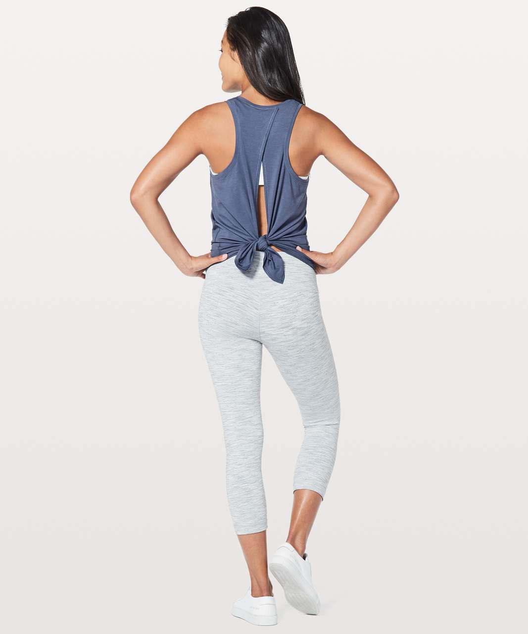 Lululemon All Tied Up Tank - Moody Blues
