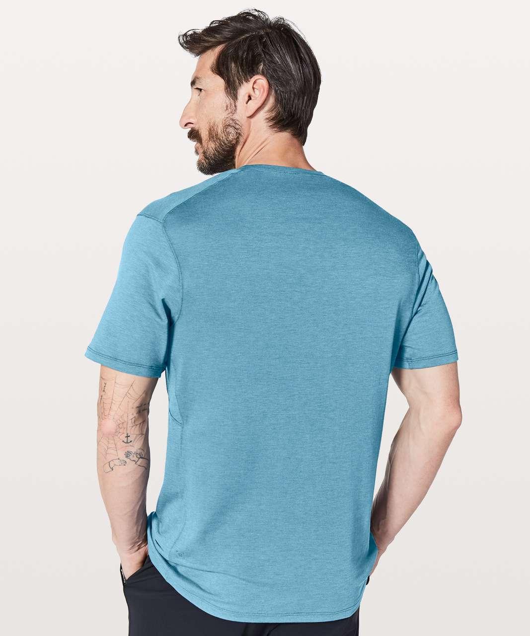 Lululemon Somatic Aero Short Sleeve - Pewter Blue