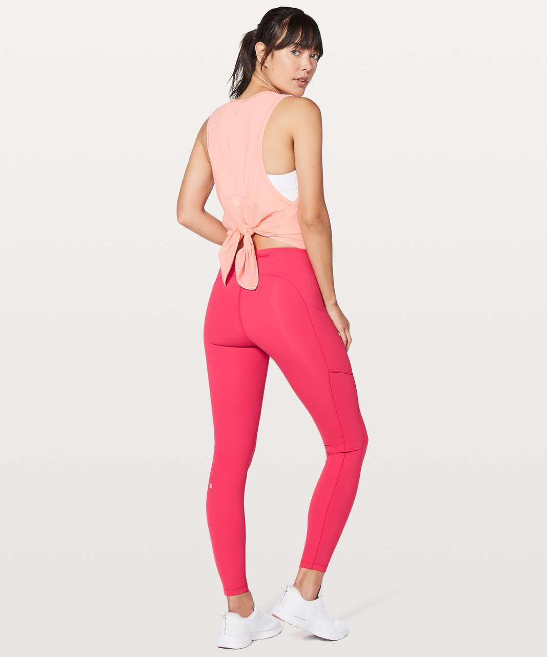 "Lululemon Speed Up Tight *Full-On Luxtreme 28"" - Fuchsia Pink"