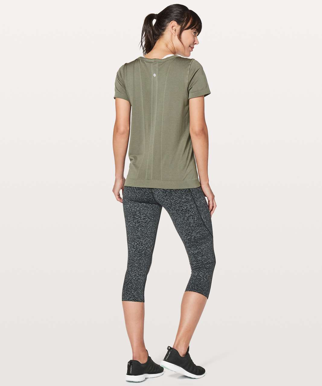 Lululemon Swiftly Tech Short Sleeve (Breeze) *Relaxed Fit - Sage / Sage