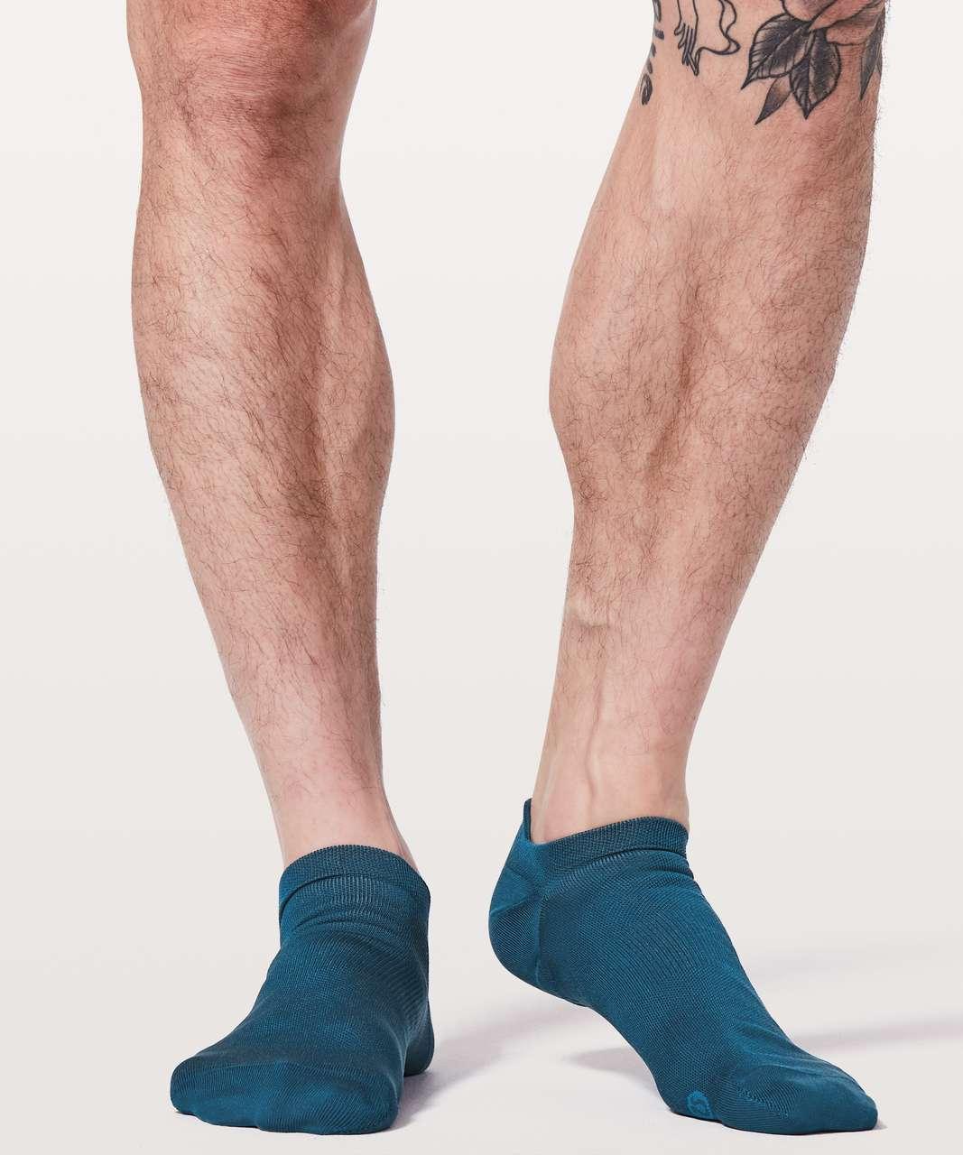 Lululemon Surge Sock *Silver - Poseidon / Cyprus