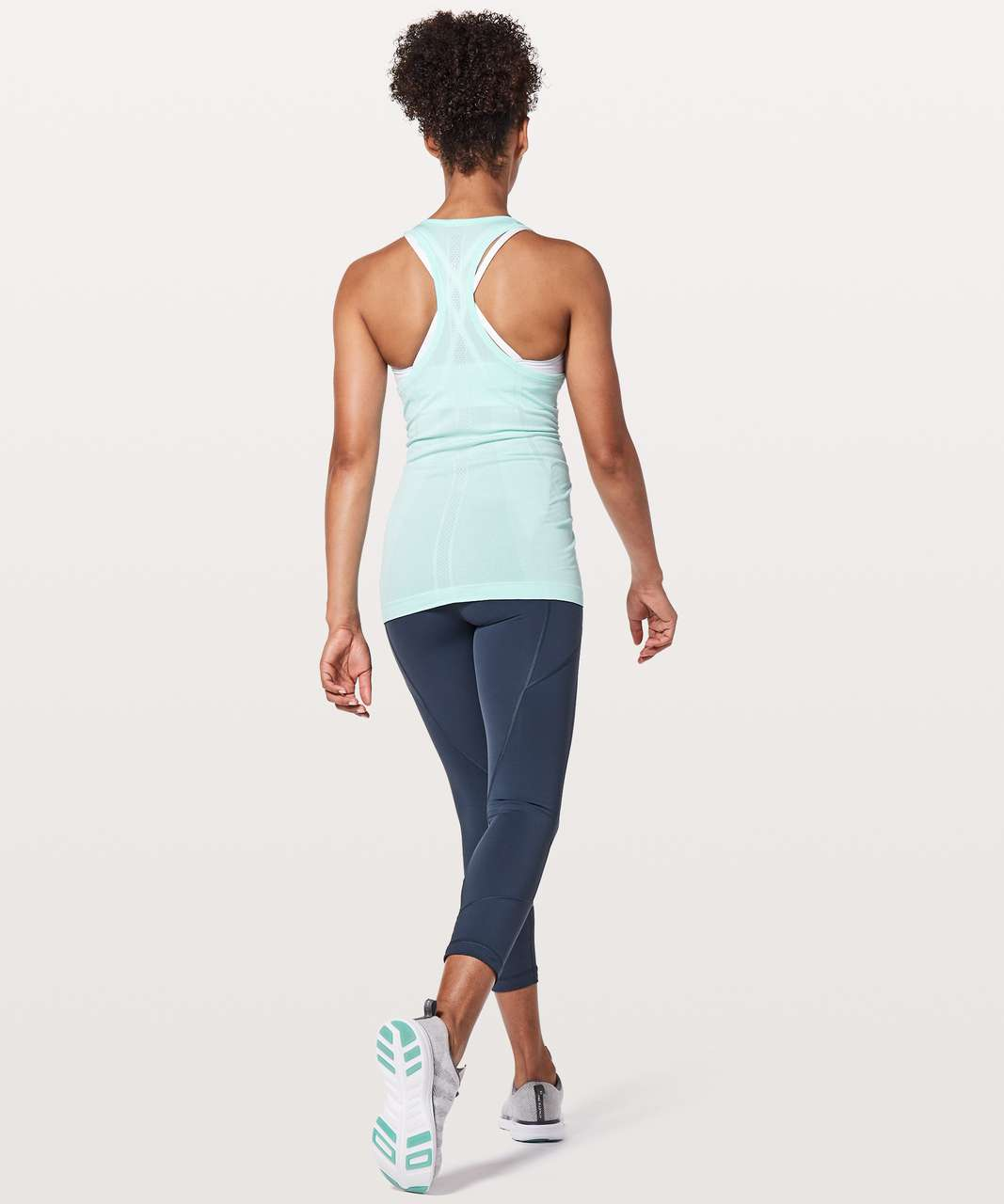 Lululemon Swiftly Tech Racerback - Aquamarine / Aquamarine