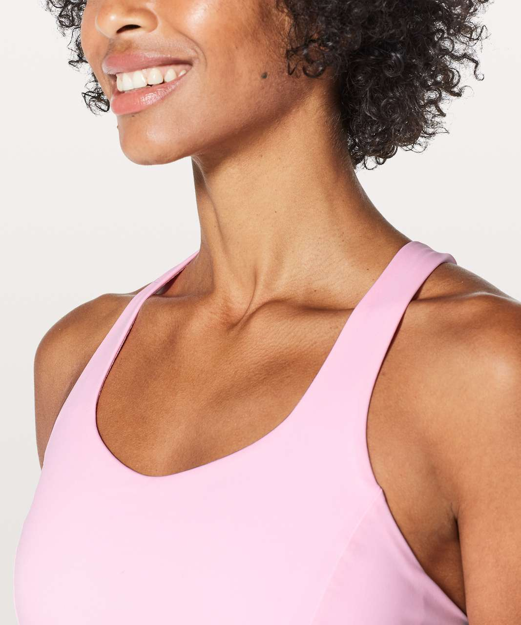 Lululemon Free To Be Serene Bra - Miami Pink