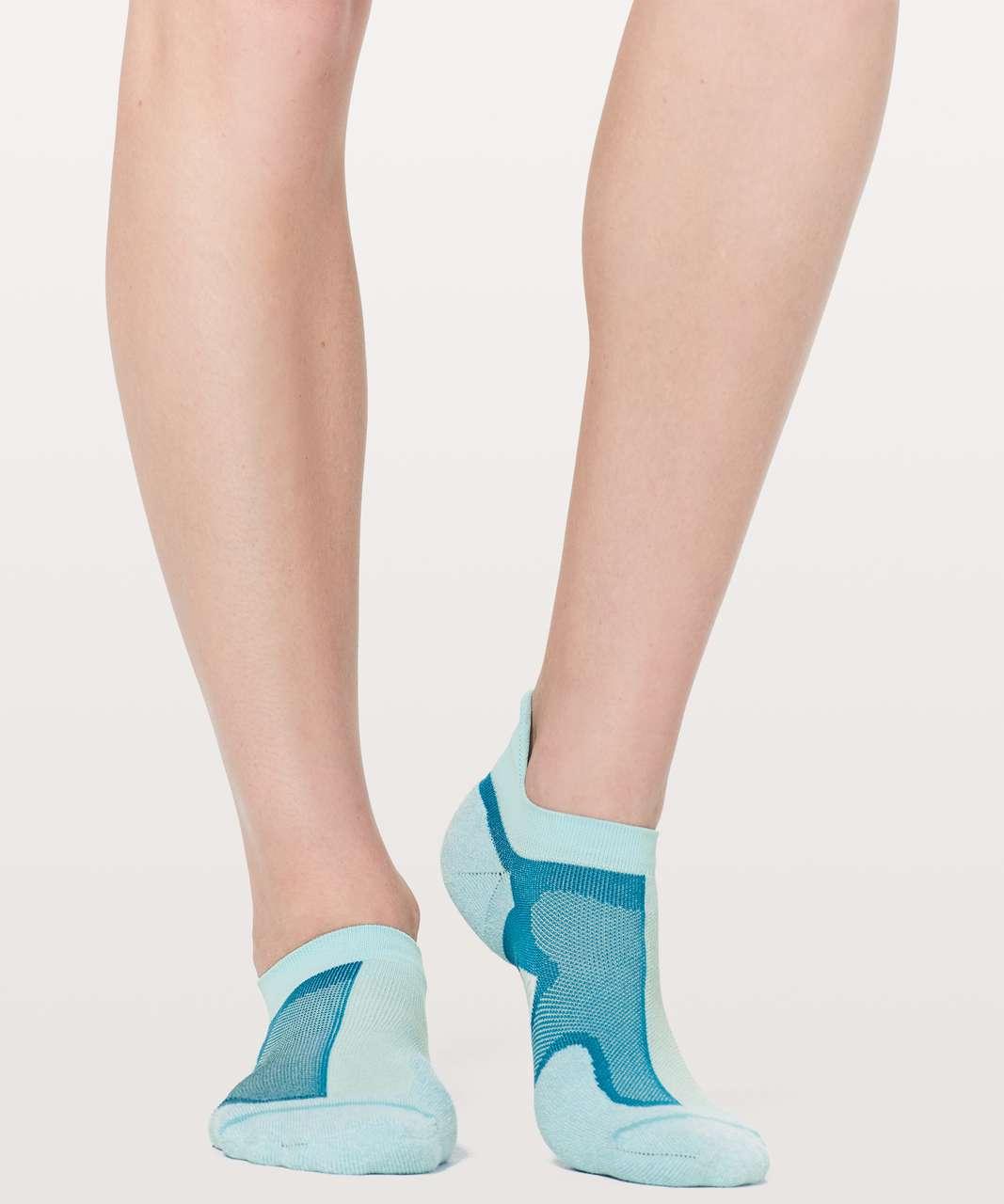Lululemon Speed Sock *Silver - Blue Glow / Teal Blue / Eton Blue