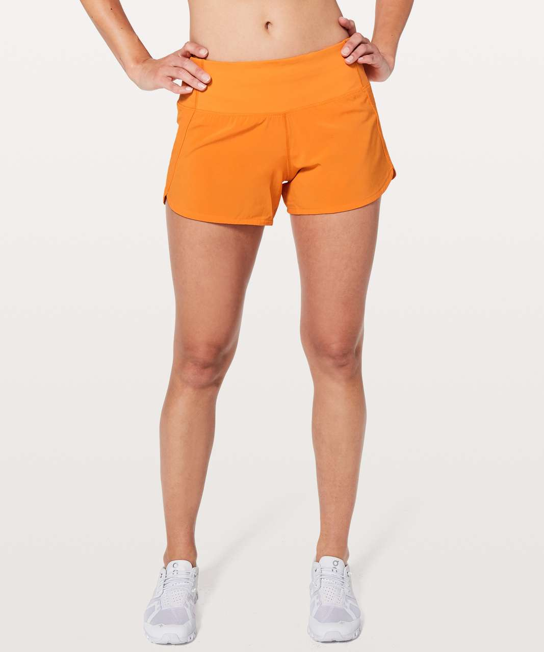 "Lululemon Run Times Short II *4"" - Vivid Amber"