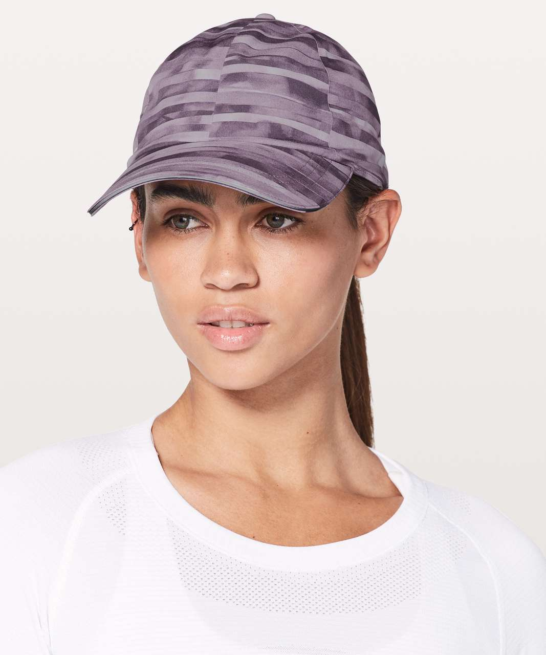 Lululemon Baller Hat Run *Ponytail - Shadowed Smoked Mullberry
