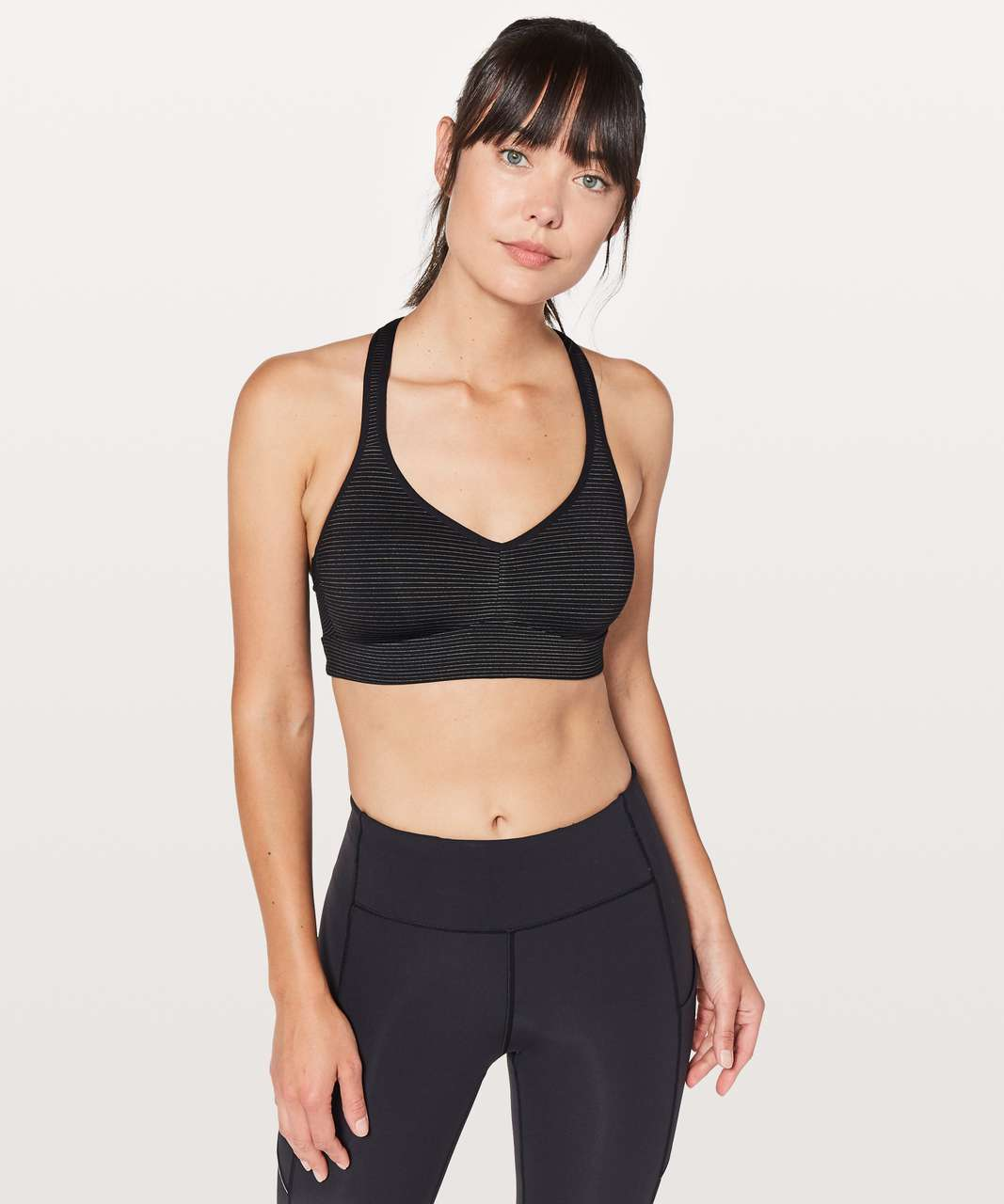 Lululemon Speed Up Bra Anti-Stink - Black
