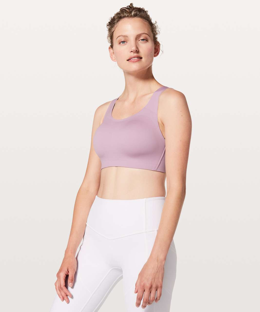 f86c768fc3286 Lululemon Enlite Bra - Rose Blush