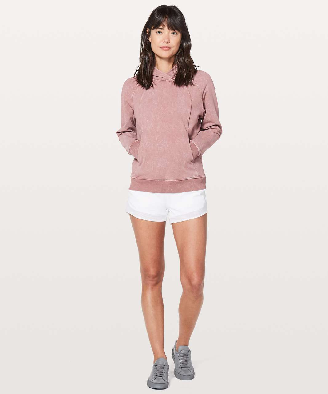 Lululemon Scuba Pullover - Washed Quicksand