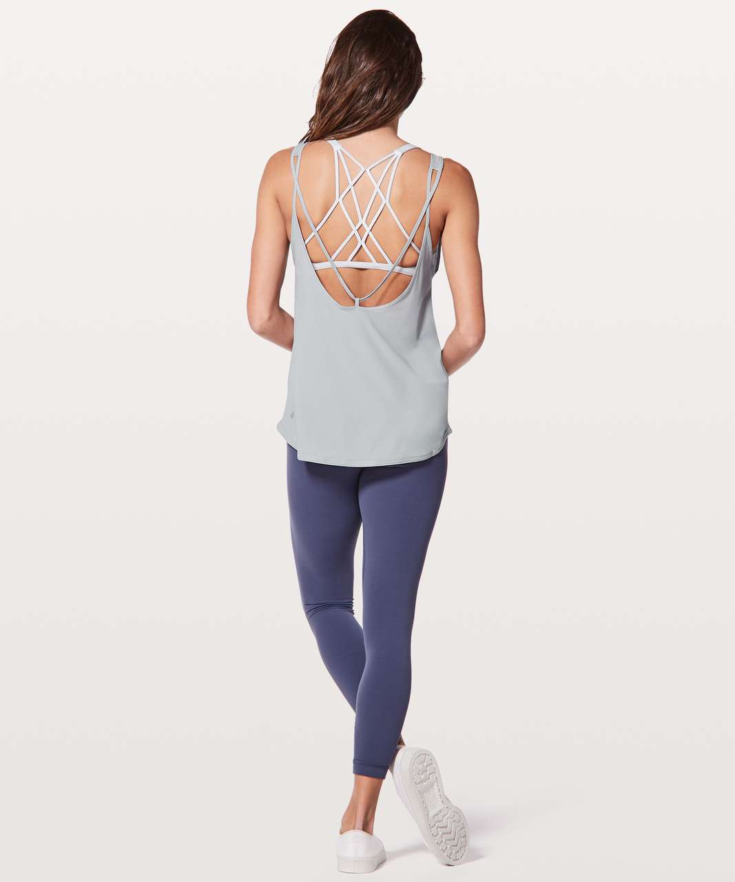 Lululemon Let It Slip Tank - Silver Fox