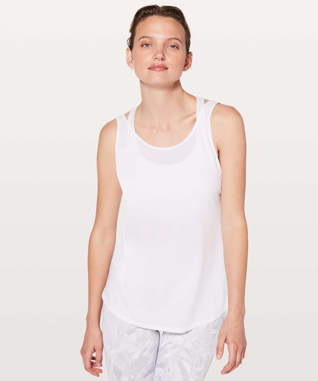 Lululemon Let It Slip Tank - White