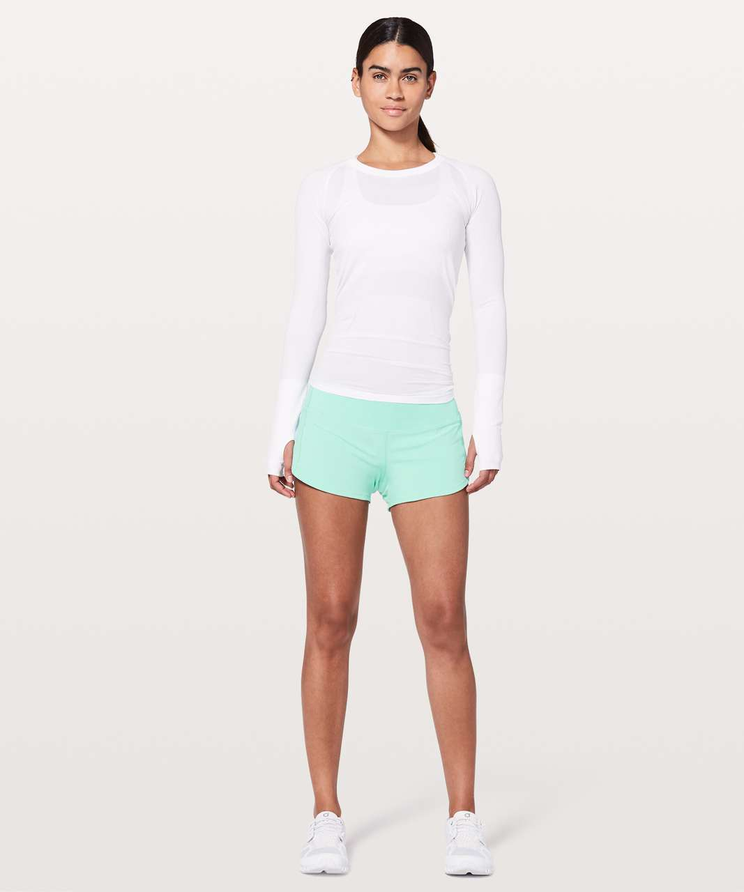 "Lululemon Speed Up Short *2.5"" - Washed Marsh"
