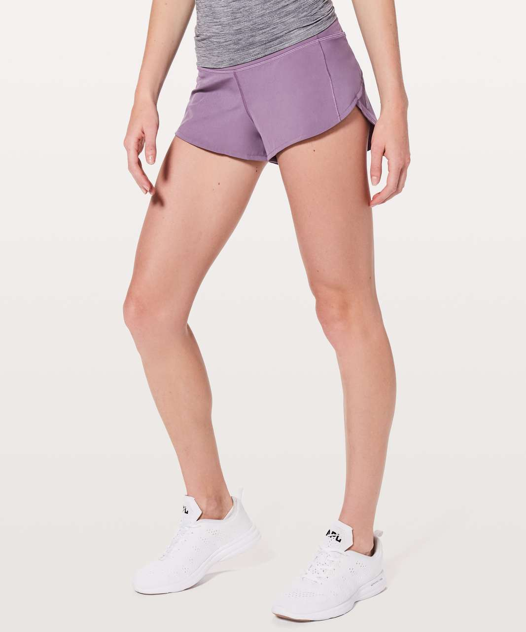 "Lululemon Speed Up Short *2.5"" - Smoked Mulberry"