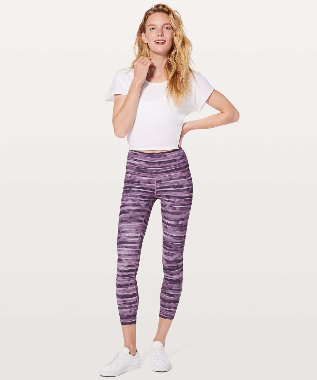 "Lululemon Wunder Under Hi-Rise 7/8 Tight *25"" - Shadowed Smoked Mullberry"