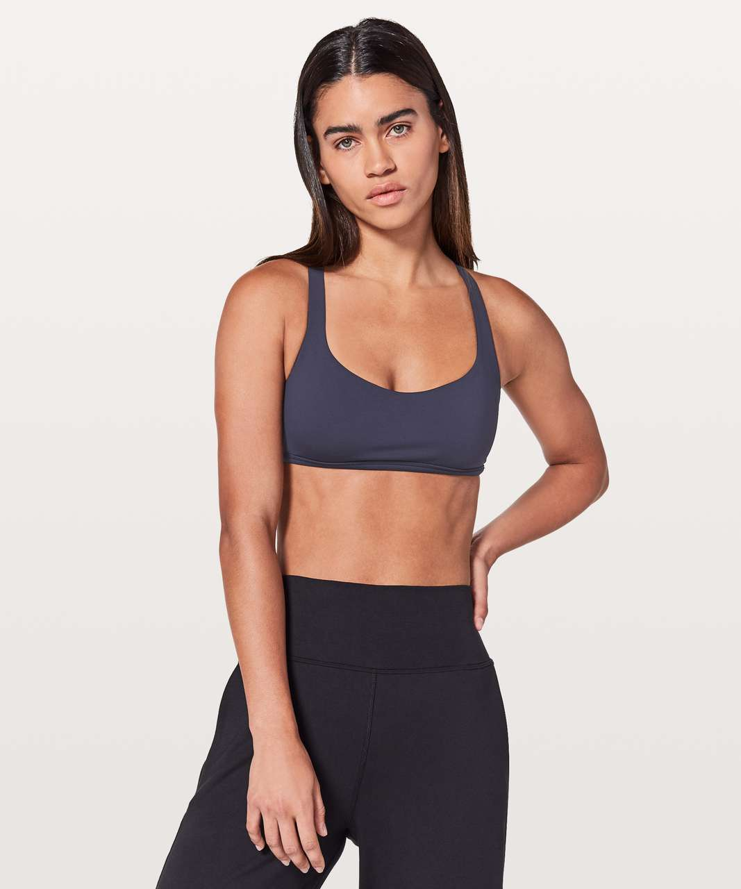 Lululemon Free To Be Bra (Wild) - Midnight Navy