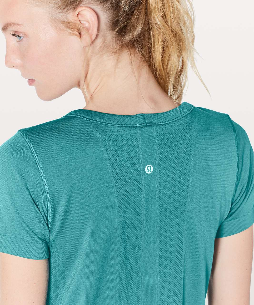 Lululemon Swiftly Tech Short Sleeve (Breeze) *Relaxed Fit - Deep Cove / Deep Cove