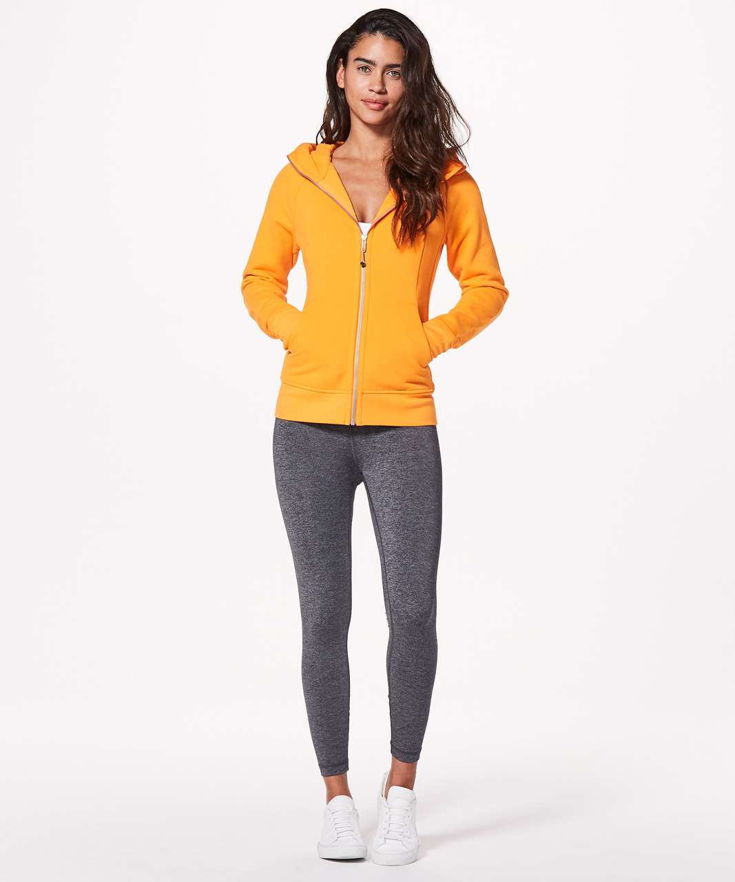 Lululemon Scuba Hoodie *Light Cotton Fleece - Vivid Amber (First Release)