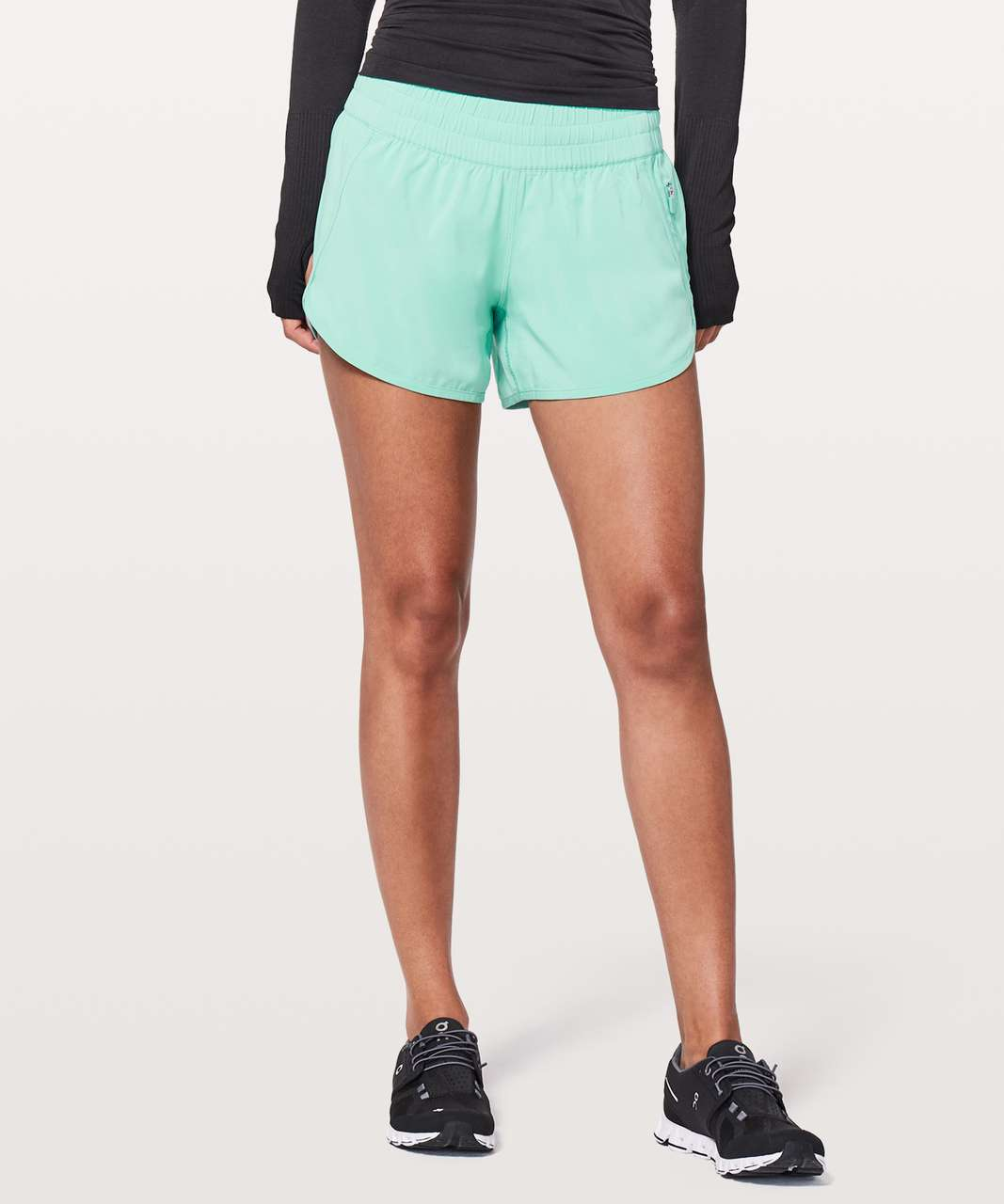 "Lululemon Tracker Short V *4"" - Washed Marsh"