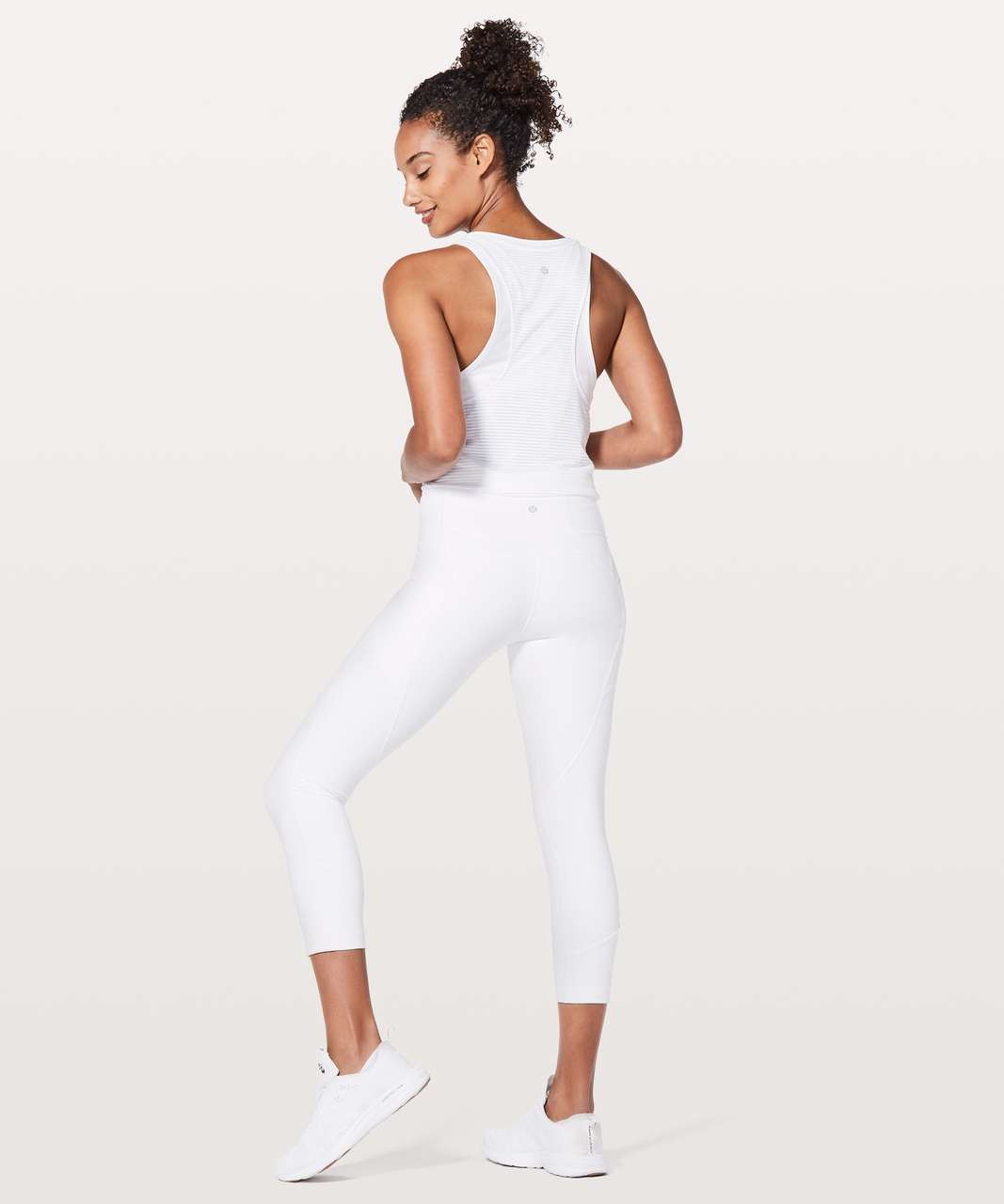 """Lululemon All The Right Places Crop II *23"""" - White"""